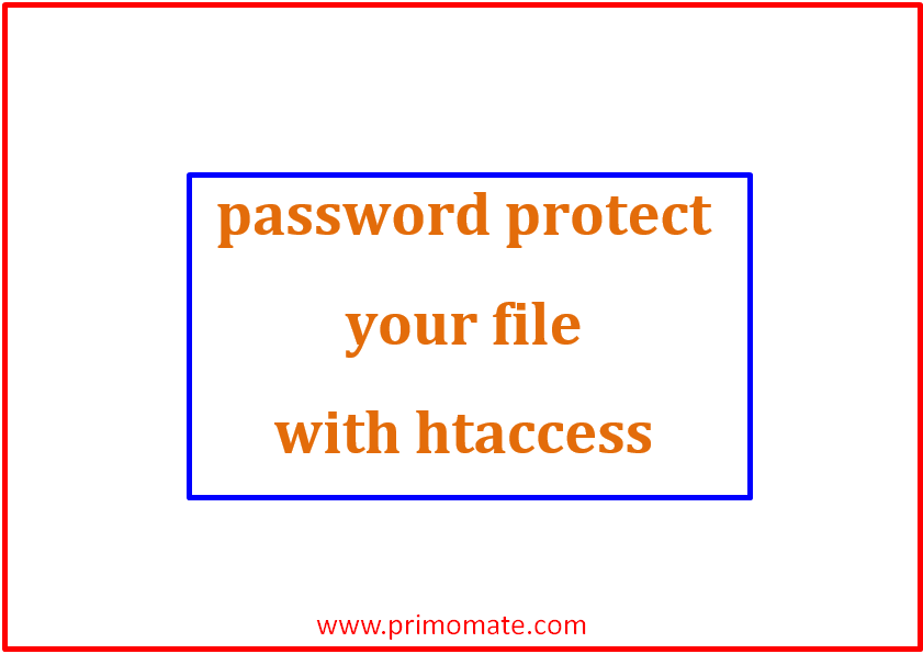 password protect your file with htaccess