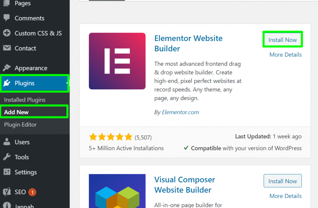 Install plugin in WordPress Website for beginners