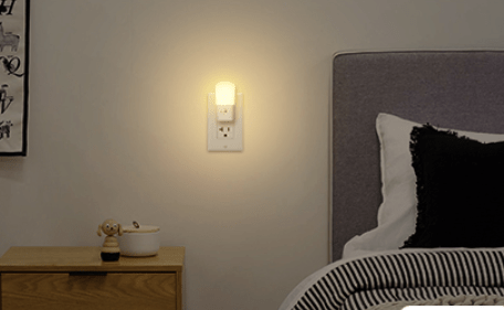 LOHAS Plug in color Light for bedroom