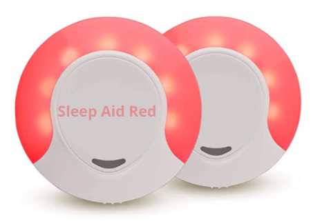 Sleep Aid Red color LED night light for sleeping