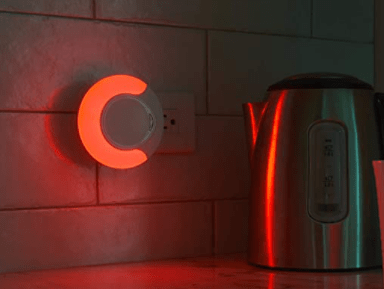 example of LED AID red color light
