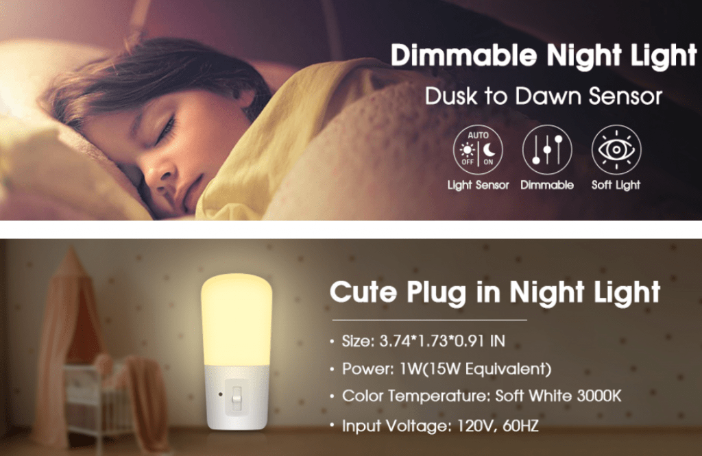 LOHAS Plug-in dimmable light